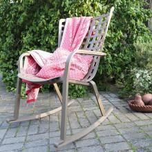 Židle Aria Antracit Acrilic Grigio