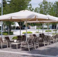 Židle Aria Avana Acrilic Avana, Stolík Aria 100 Avana
