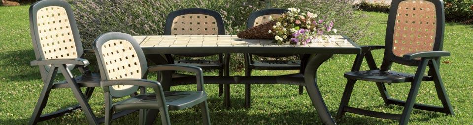 3181c8475ce3 Prostorný stůl pro zahradu. Stůl Toscana Nardi
